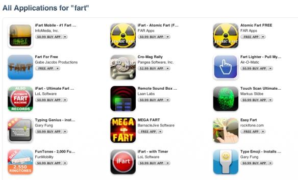 fart apps